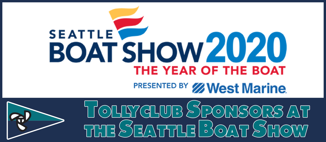 Tollyclub Sponsors at the Seattle Boat Show