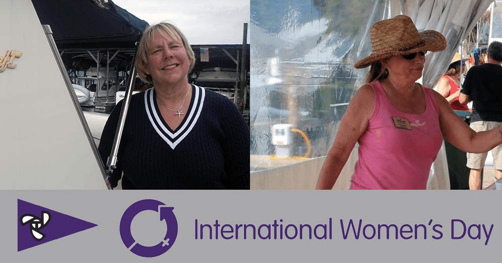 International Women's Day Lori Potts Cara Clark