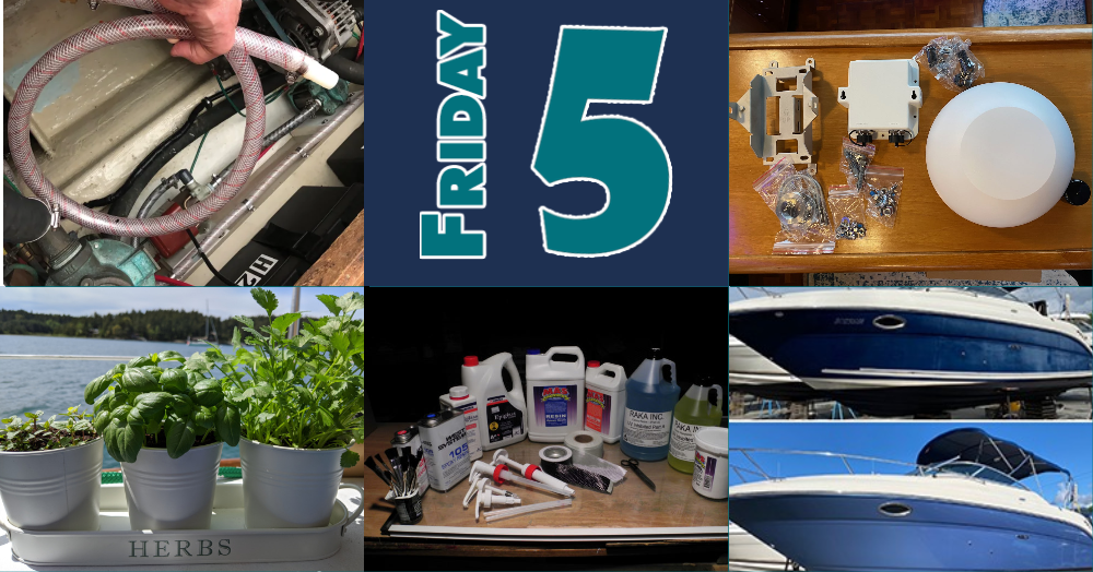 Friday Five for July 10