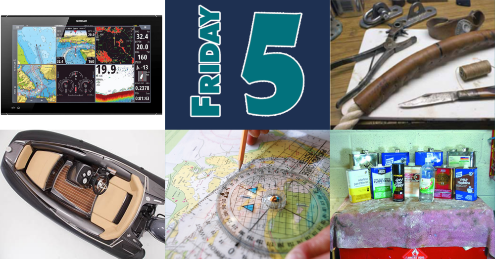 Friday Five for October 9