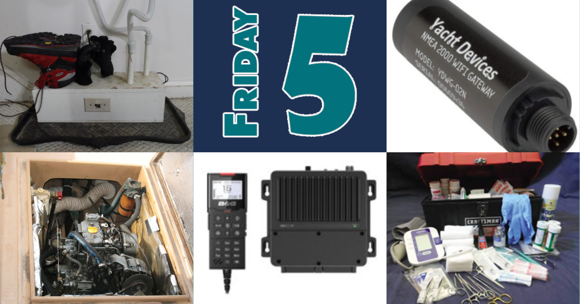 Friday Five for January 15